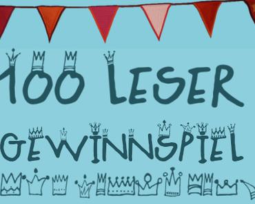 Erinnerung 100-Leser-Gewinnspiel