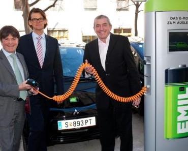 Erstes Carsharing ausschließlich mit Elektroautos