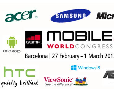 MWC 2012 Tablet-Preview: Was uns an Tablets in Barcelona erwartet.