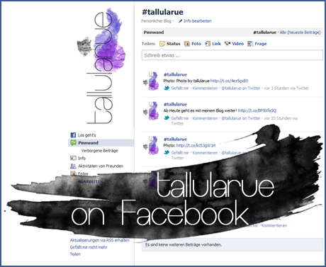 TALLULARUE ON FACEBOOK