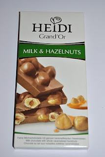 Heidi Grand'Or Milk & Almonds, Milk & Hazelnuts und Florentine