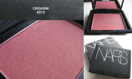 [Swatch] Nars Blush – Orgasm