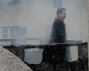 Schneetreiben beim Schwangauer Faschingsumzug am 19.02.2012