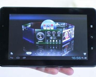 MWC 2012: Viewsonic stellt vier neue Android-Tablets zum Sparpreis vor.