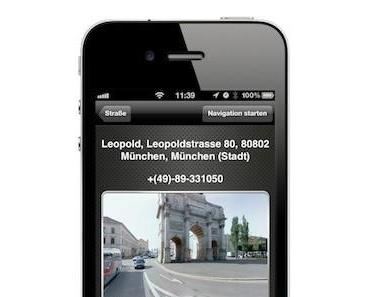 Navigon 2.1: Mit Google Street View vorgestellt