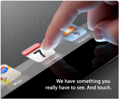 Apple verschickt Einladungen für die iPad 3 Keynote am Mittwoch, den 07. März in San Francisco