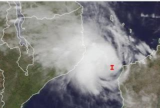 Ex-Zyklon IRINA formt sich zwischen Madagaskar und Mosambik neu - eventuell auch Südafrika bedroht