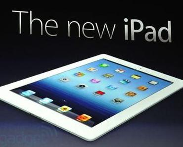 Das ist das neue iPad 3!