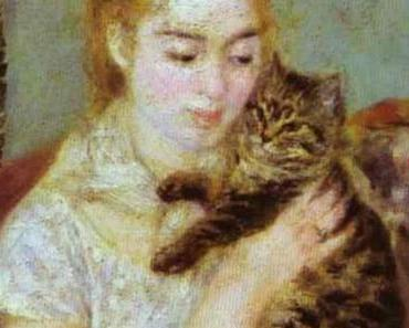 Pierre Auguste Renoir: Woman with a Cat