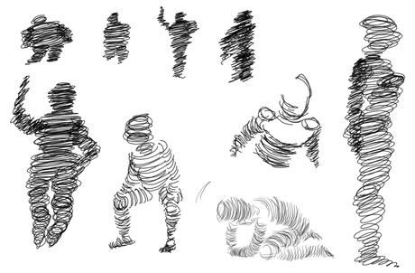 mithilfe von kreisen figuren zeichnen lernen einfach. Black Bedroom Furniture Sets. Home Design Ideas