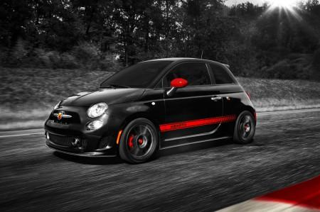 Charly Sheen und der Fiat 500 Abarth