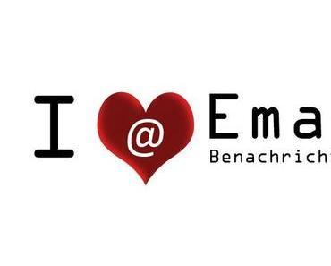 i love Email-Benachrichtigung