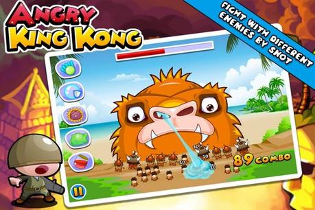 Angry King Kong – Der Schnodder ist seine beste Waffe