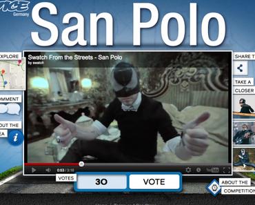 "SWATCH ""Street To Be"" : I Heart San Polo [VICE Germany]"