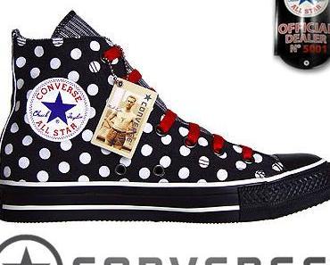 #Converse All Star Chuck Taylor 1W761 weiß White Polkadots #Dots Punkte