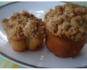 Birnen-Streusel-Muffins und Gartenträume