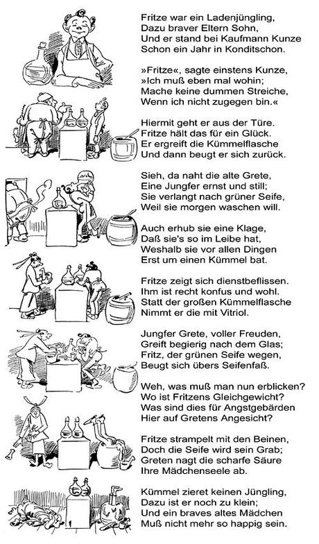 Fritze Von Wilhelm Busch Im Seifenblog Unterhaltsames Für
