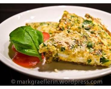 Frittata con le zucchine – Zucchini Omelett