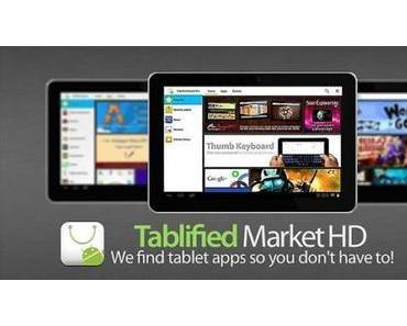 Tablified Market HD: Android-Apps für Tablets leichter ausfindig machen