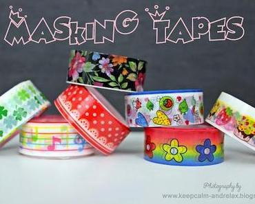 Neue Masking Tapes und We heart it
