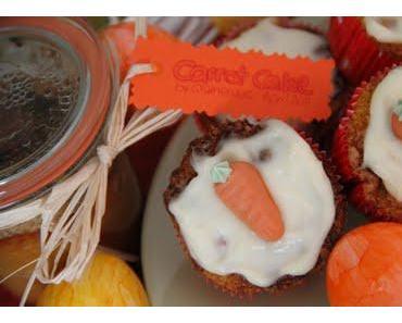 Geschenke zu Ostern - Carrot Cake im Glas