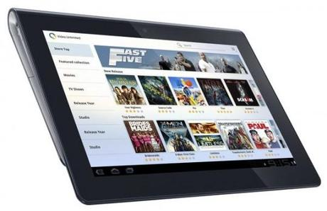 Sony Tablet S erhält Android 4.0-Update Ende April.