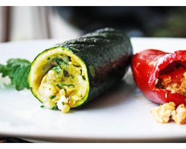 Startschuss für die Grillsaison – mit heißem Gemüse auf dem Grill…