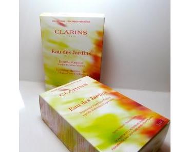 """Clarins """"Eau de Jardins"""" Neu Shower Gel / Duschgel Limited Edition & Aromaduft"""