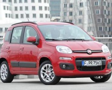 Ab Herbst gibt es den Fiat Panda mit Erdgas