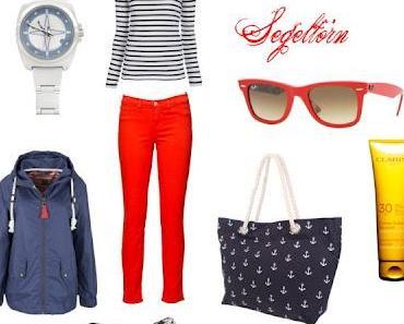 Wie kombinierst du eine rote Hose?