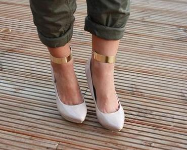 DIY Ankle Cuffs