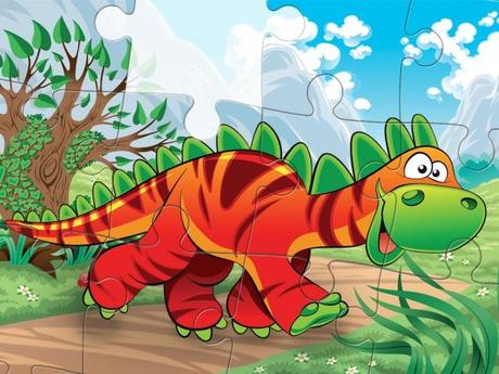 Dinosaurs – Jigsaw Puzzle Game for Kids