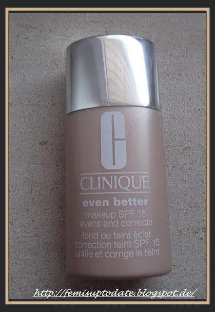 Clinique -  Even Better Make up SPF 15