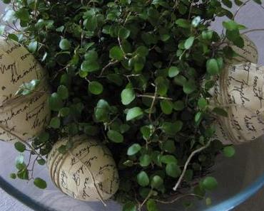 Fröhliche Osterbastelei – von Eiern und Hasen!
