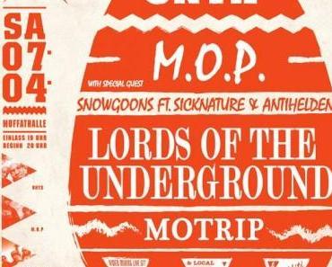 """""""Rockin With The Best Jam Vol. 2″ u.a. mit Onyx und M.O.P. – 07.04.2012, Muffathalle München"""