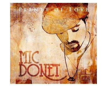 "Mic Donets neues Album ""Plenty of Love"""
