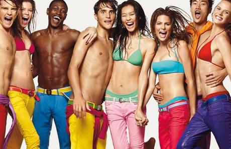 BENETTON SPRING/ SUMMER COLLECTION 2012