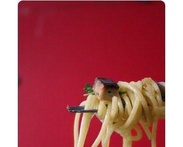 Vegane Spaghetti Carbonara aus Attila Hildmann Vegan For Fun