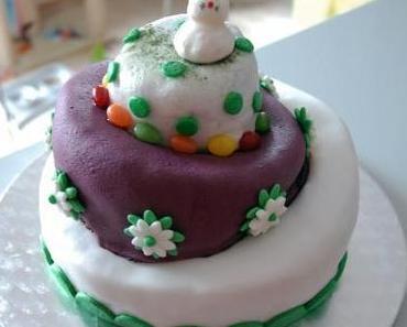 Whimsicle Cake – Anleitung und der Fondant-Test