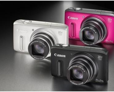 Vorstellung: Canons Powershot SX Modelle – kompakt und doch kreativ