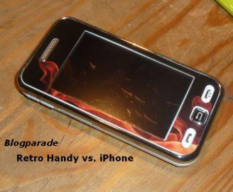 "Meine Blogparade ""Retro-Handy vs. iPhone"""