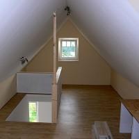 Dachausbau für zusätzlichen Wohnraum