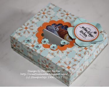 Geburtstagskuchen in der Schachtel ;-)