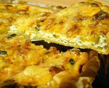 Zucchini-Quark-Quiche