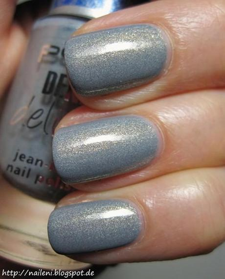[Nagellack] P2 - 010 grey denim (limitiert)