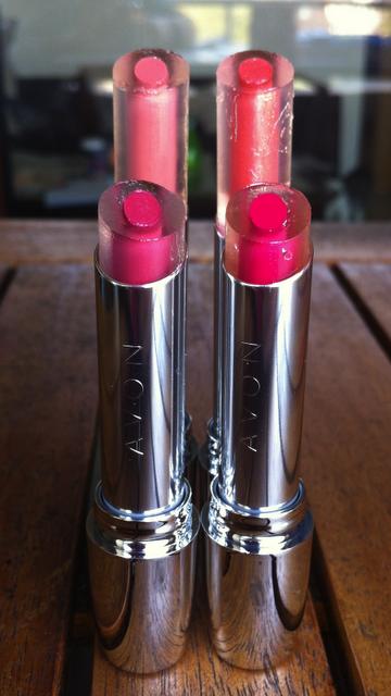 avon shine attract lippenstift farbe pflege schutz