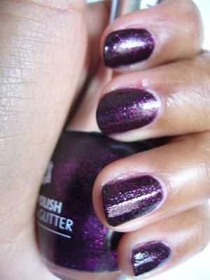 Swatch | Lila Glitter Nagellack aus Holland