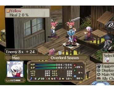 Disgaea 3: Absence of Detention- Vita-RPG heute erschienen