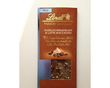 Lindt Passion Chocolat Haselnusskrokant & Latte Macchiato