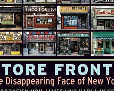Store Fronts – The Disappearing Face of New York